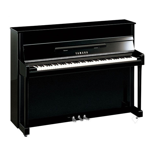 Yamaha B2 Upright Piano with Chrome Fittings