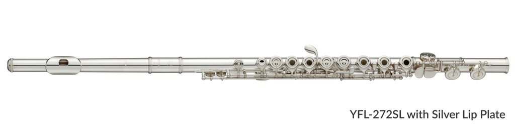 Yamaha YFL272SL Flute Outfit with Ring Keys, Offset G, Split E and Silver Lip Plate