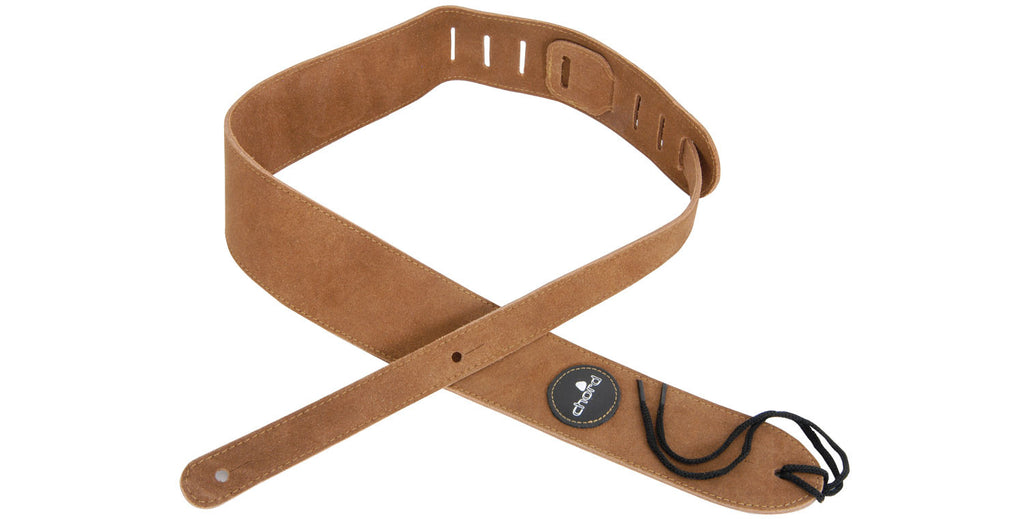 Chord Suede Leather Guitar Strap