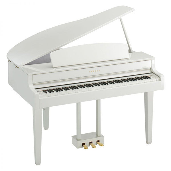 Yamaha CLP565GP Baby Grand Digital Piano in Polished White
