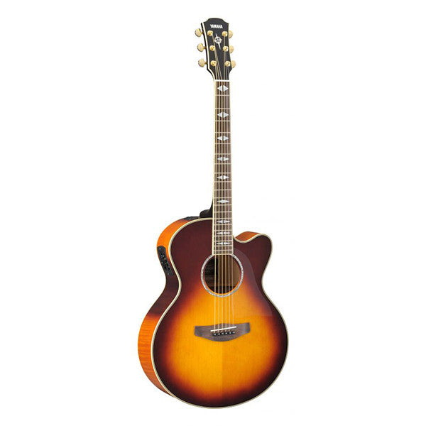 Yamaha CPX1000 Electro-Acoustic Guitar in Brown Sunburst