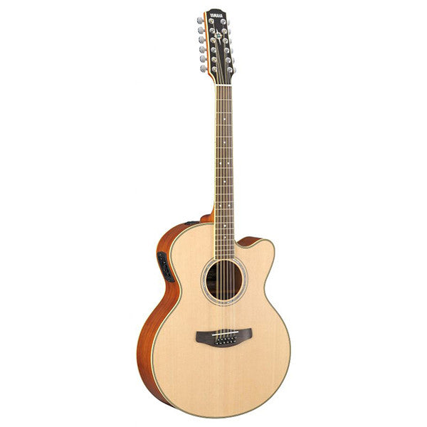Yamaha CPX700ii 12-String Electro-Acoustic Guitar in Natural