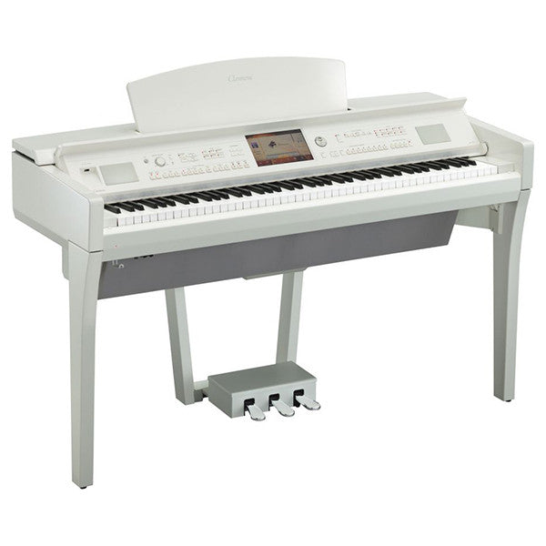 Yamaha CVP709 Digital Piano in Polished White
