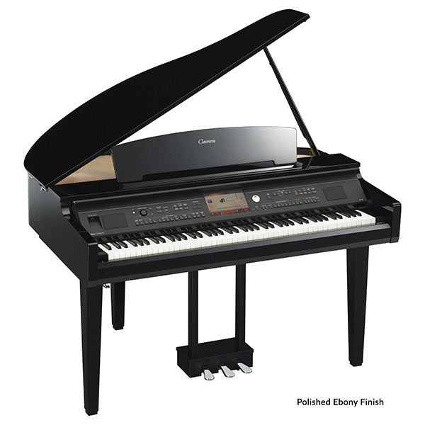 Yamaha CVP709GP Baby Grand Digital Piano in Polished Ebony