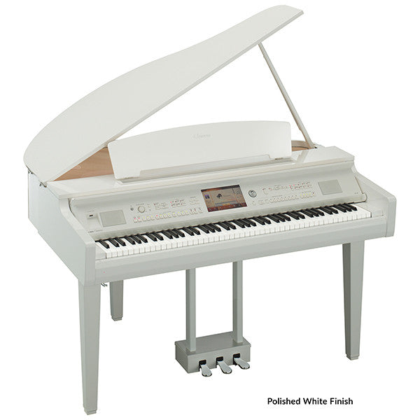 Yamaha CVP709GP Baby Grand Digital Piano in Polished White