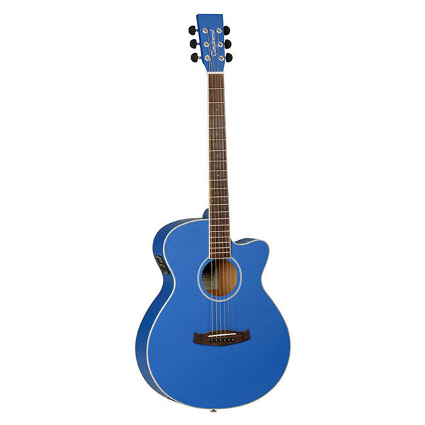 Tanglewood Discovery DBT SFCE Electro-Acoustic Guitar in Dark Cobalt Blue