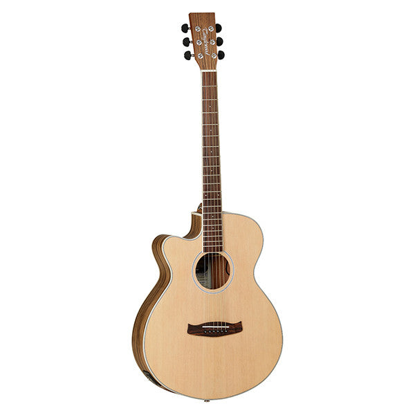 Tanglewood Discovery DBT SFCE PW Left Handed Electro-Acoustic Guitar