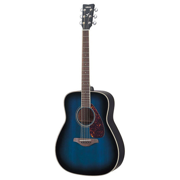 Yamaha FG720s Acoustic Guitar in Oriental Blue Burst