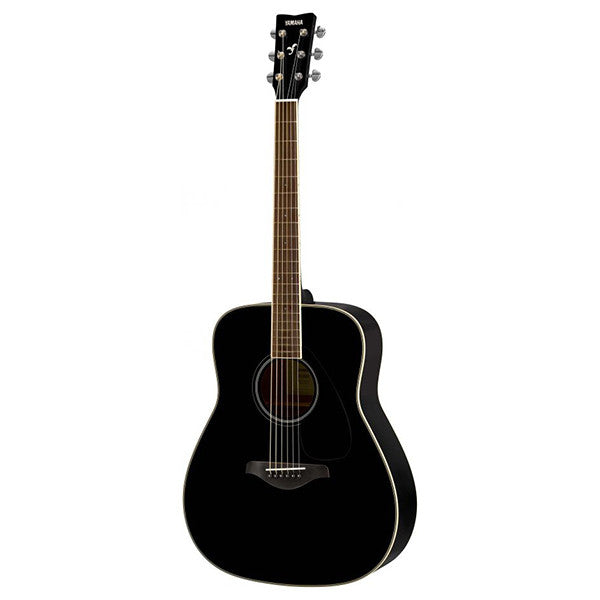 Yamaha FG820 Acoustic Guitar in Black