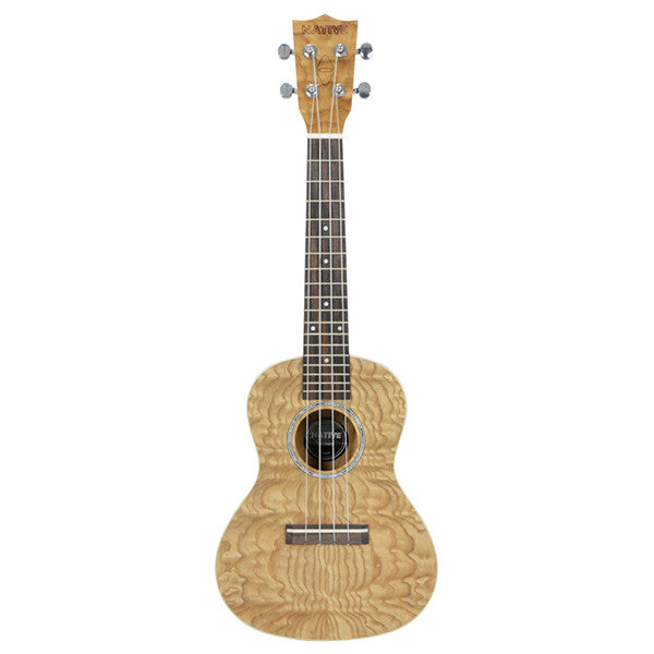 Chord Native Concert Curly Ash Ukulele