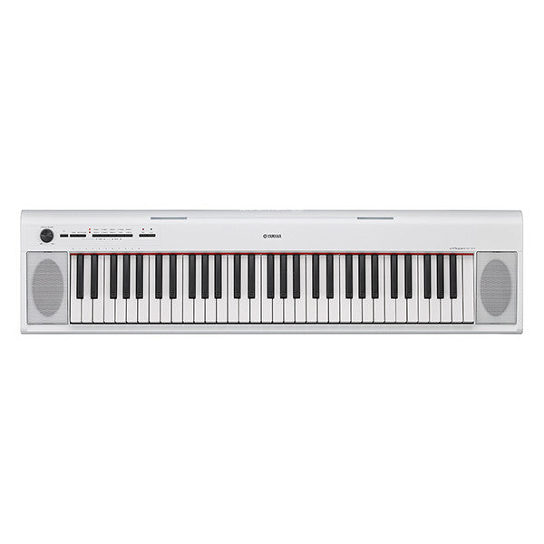 Yamaha NP-12 Piaggero Keyboard in White