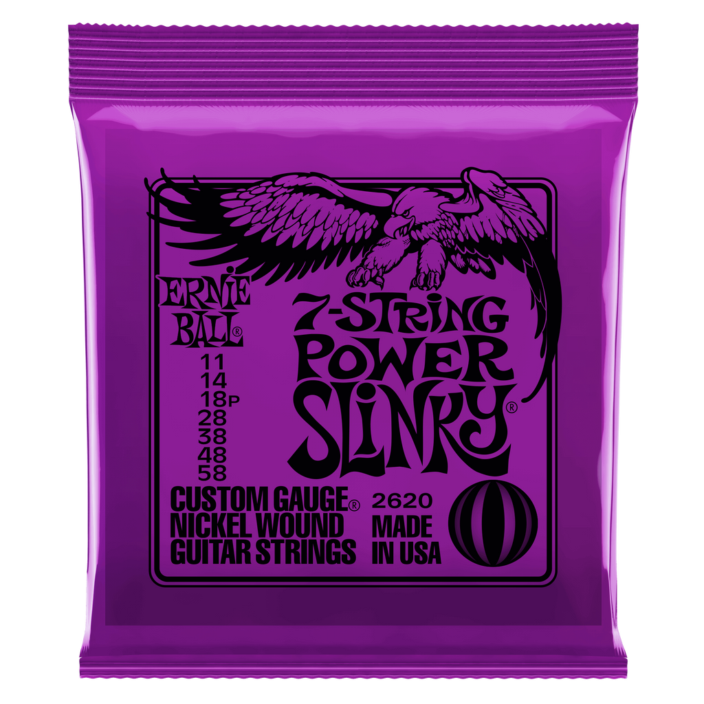 Ernie Ball 7-String Slinky Guitar Strings