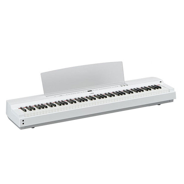 Yamaha P255 Portable Digital Piano in White