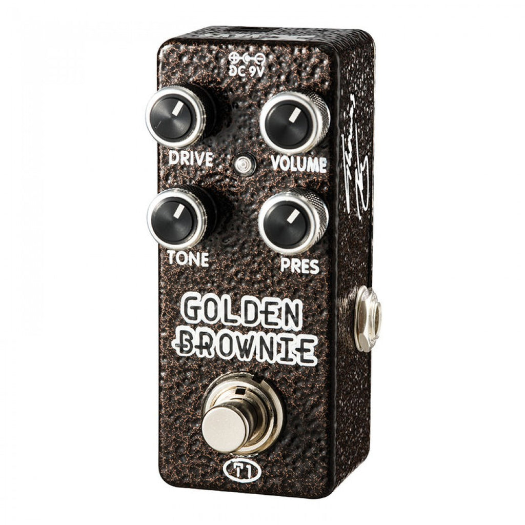 Xvive Golden Brownie Distortion Pedal