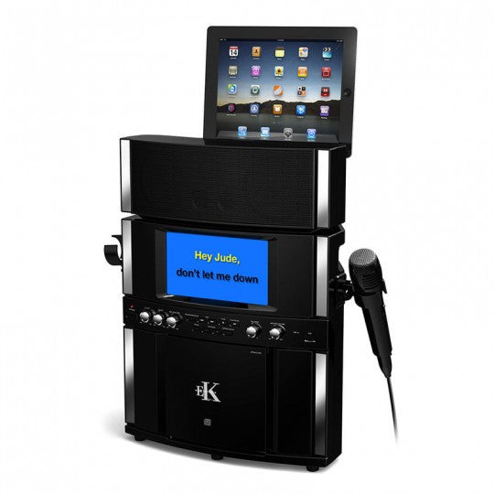 Easy Karaoke - Pro Karaoke System with Speaker and Pedestal