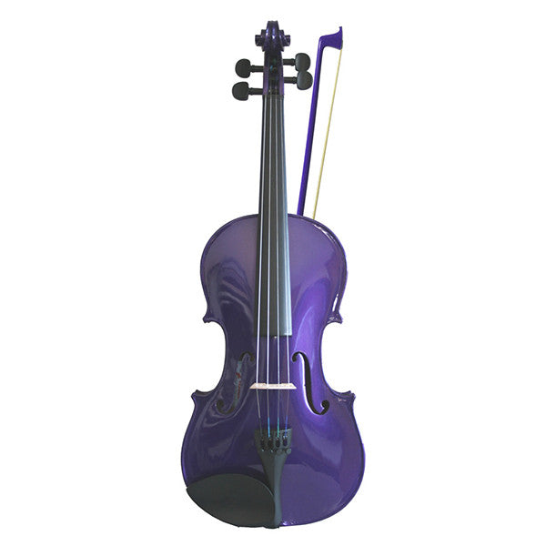 Soundpost Rainbow Fantasia Violin Outfit in Purple