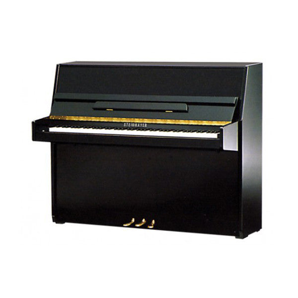 Steinmayer S108 Upright Acoustic Piano in Polished Black