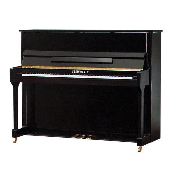 Steinmayer S118 Upright Acoustic Piano in Polished Black