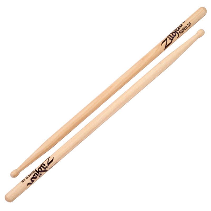 SUPER 5B WOOD NATURAL 6 PAIR