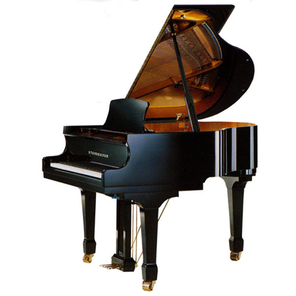 Steinmayer SG143 Baby Grand Piano in Polished Black