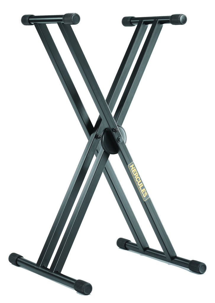 Hercules Double Brace Keyboard Stand KS120B