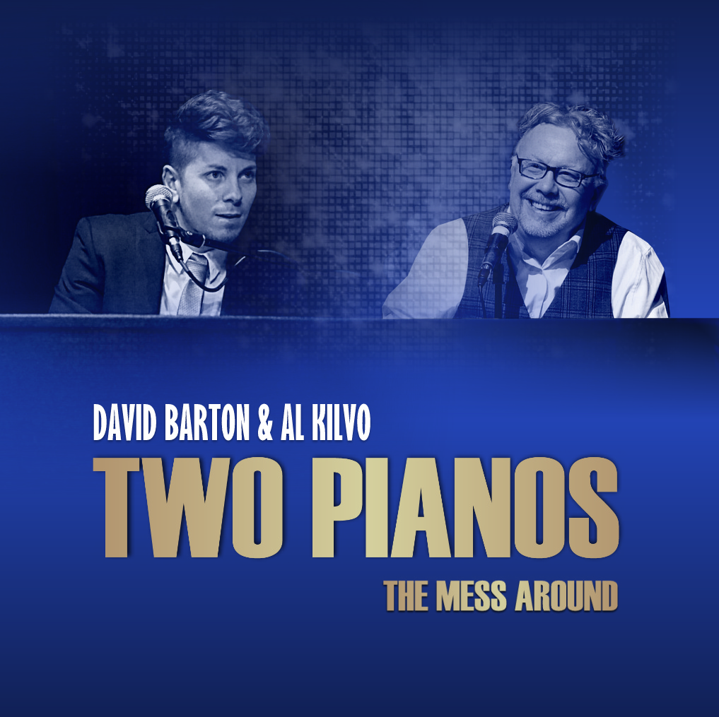 *NEW* THE MESS AROUND -TWO PIANOS CD