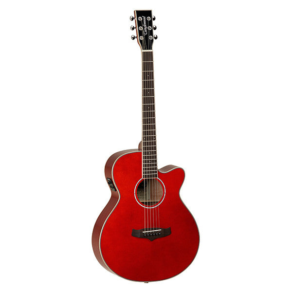 Tanglewood Evolution IV TSF-CE Electro-Acoustic Guitar in Red