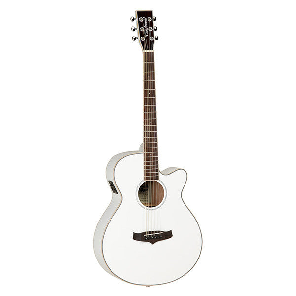 Tanglewood Evolution IV TSF-CE Electro-Acoustic Guitar in White