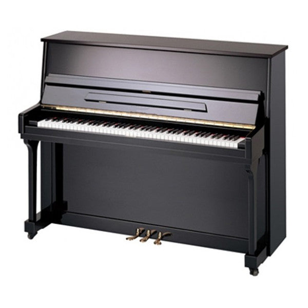 Bentley UP115 Upright Acoustic Piano in Polished Black
