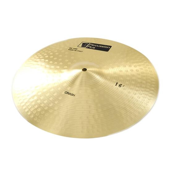 "Percussion Plus 16"" crash cymbal"