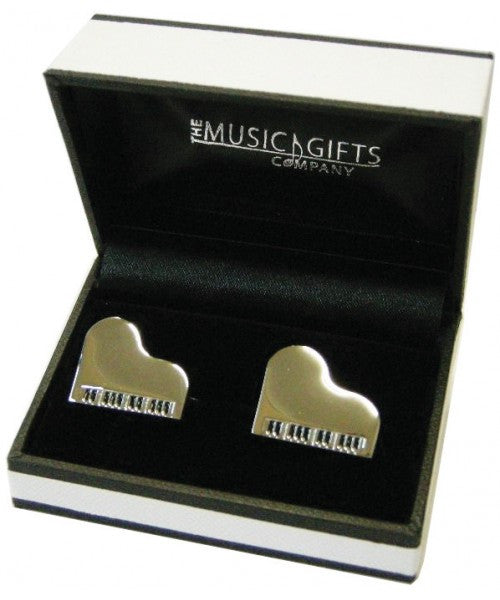 Music Gifts Cuf13 Grand Piano Cuff Links