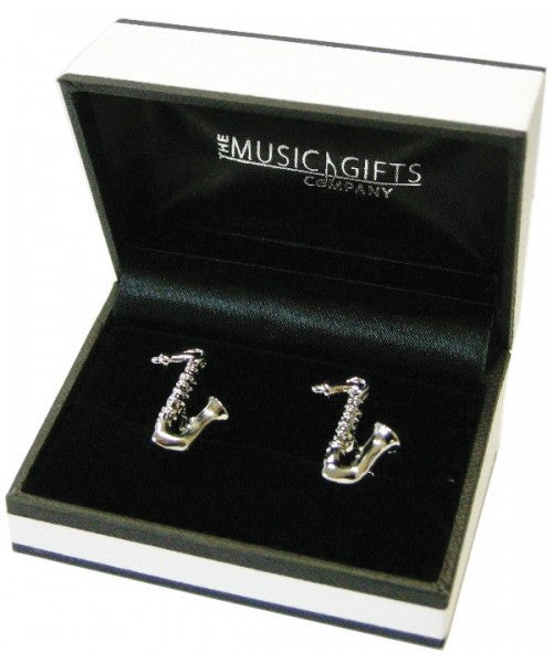Music Gifts Cuff15 Saxophone Cufflinks