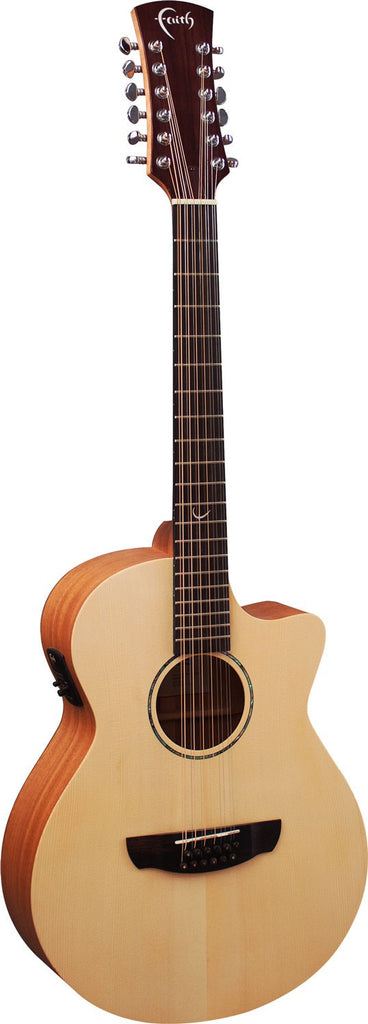 Faith FKV12 Naked Venus 12-String Electro-Acoustic Guitar