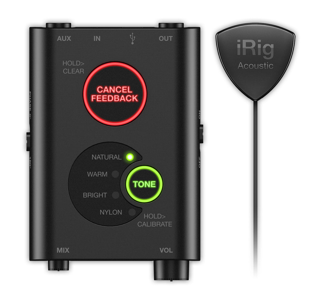 iRig Acoustic Stage Digital Guitar Pick-Up