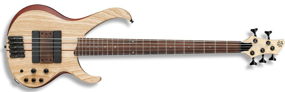 Ibanez BTB33-NTF 5 String Bass Guitar (Natural Flat)