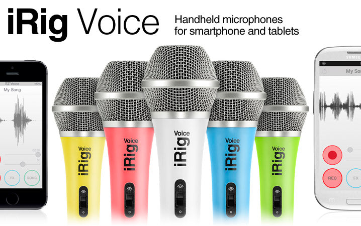 iRig Voice Karaoke Microphone for Phone and Tablet