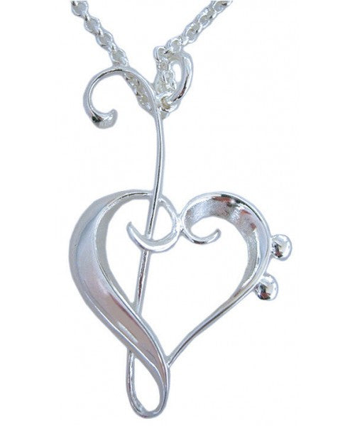 Heart of Clefs J15 Pendant