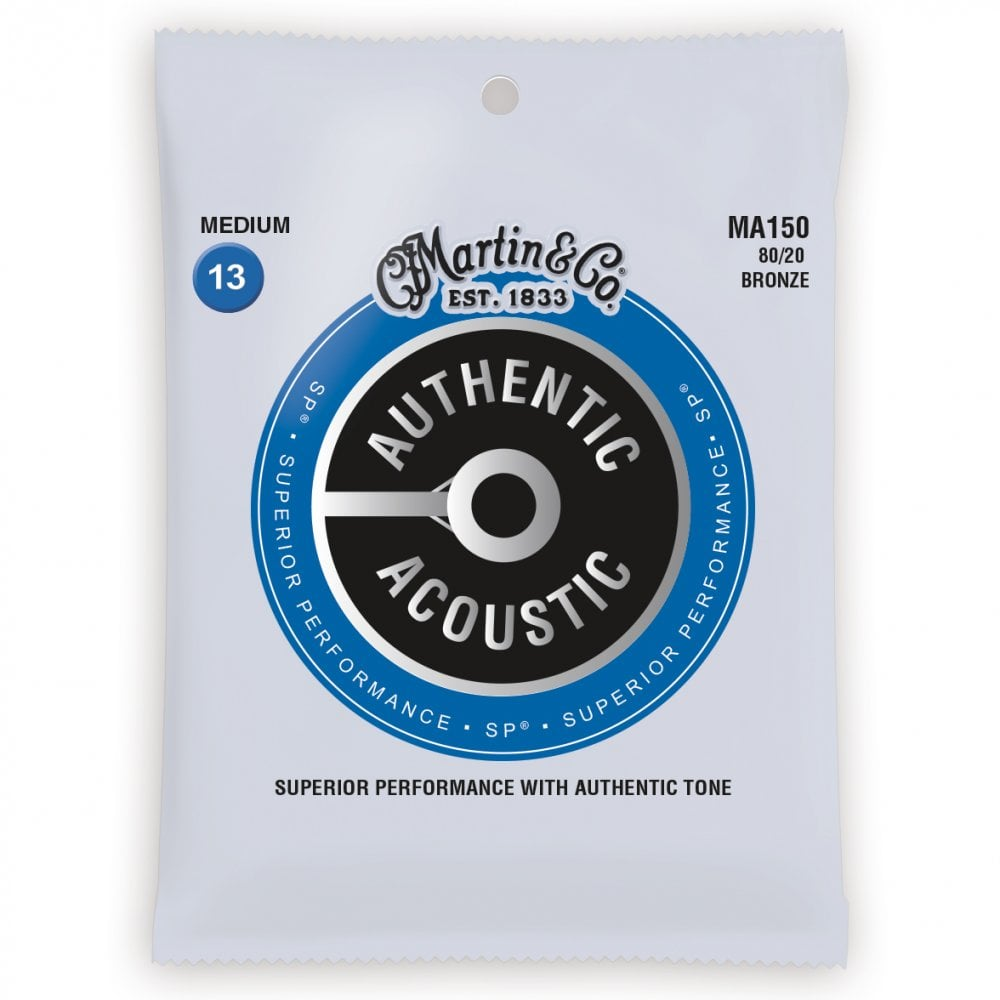 Martin & Co. Authentic Acoustic Guitar Strings
