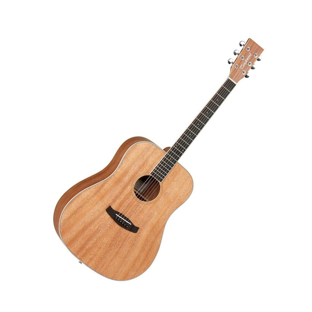 Tanglewood Union Dreadnought Acoustic, Natural Mahogany