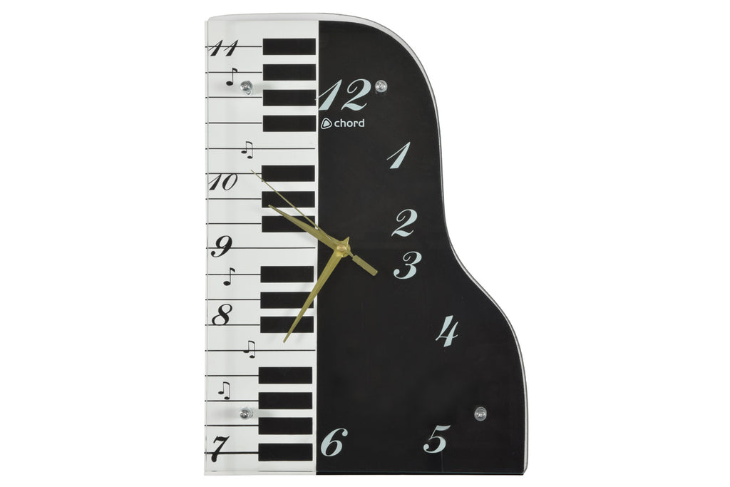 Chord Piano Wall Clock