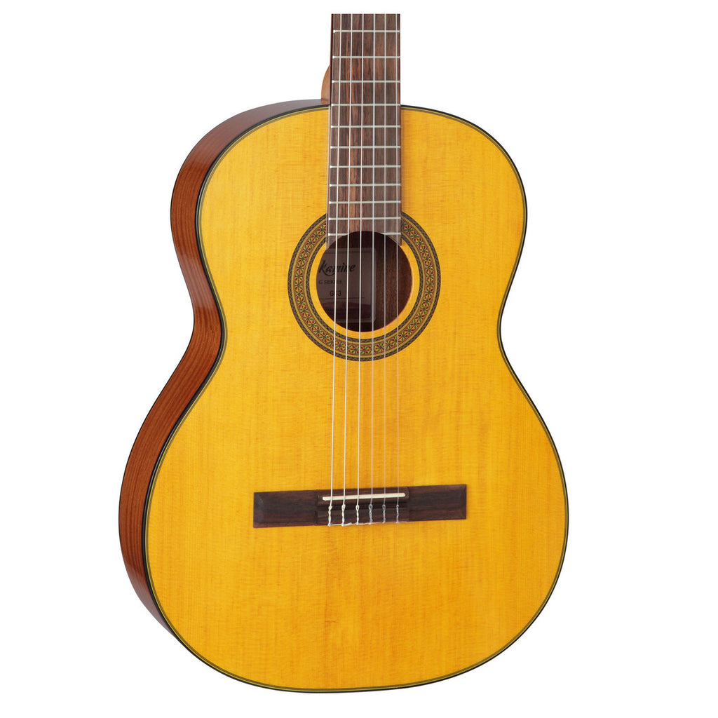 Takamine GC3 Acoustic Classical Guitar, Natural