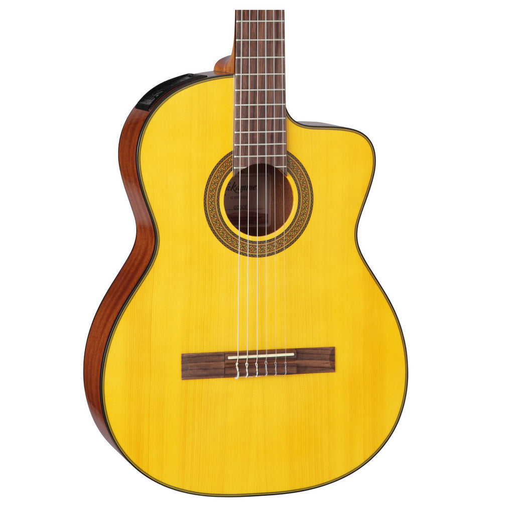 Takamine GC3CE-NAT Electro Classical Guitar, Natural