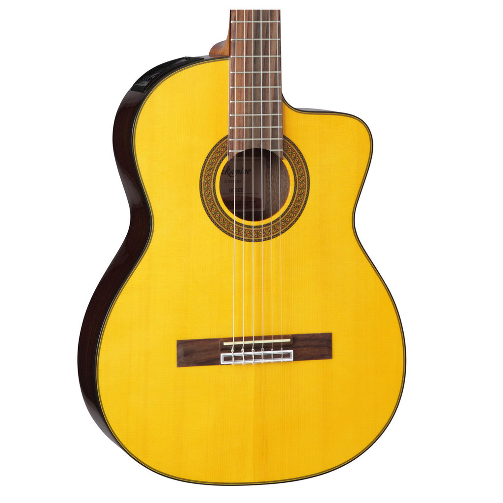 Takamine GC5CE Electro Acoustic Classical Guitar, Natural