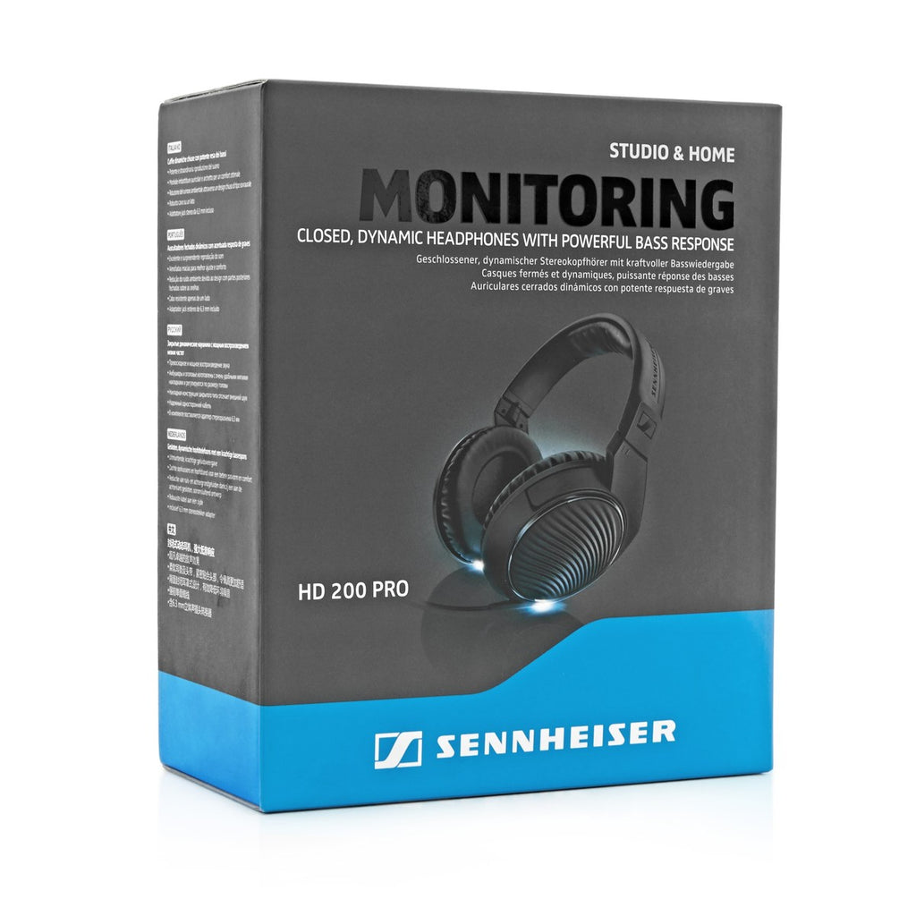 Sennheiser HD 200 PRO Closed Back Headphones