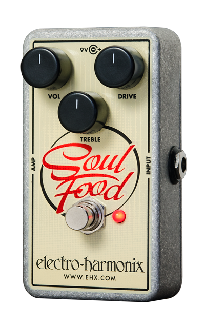 Electro-Harmonix Soul Food Transparent Overdrive Pedal