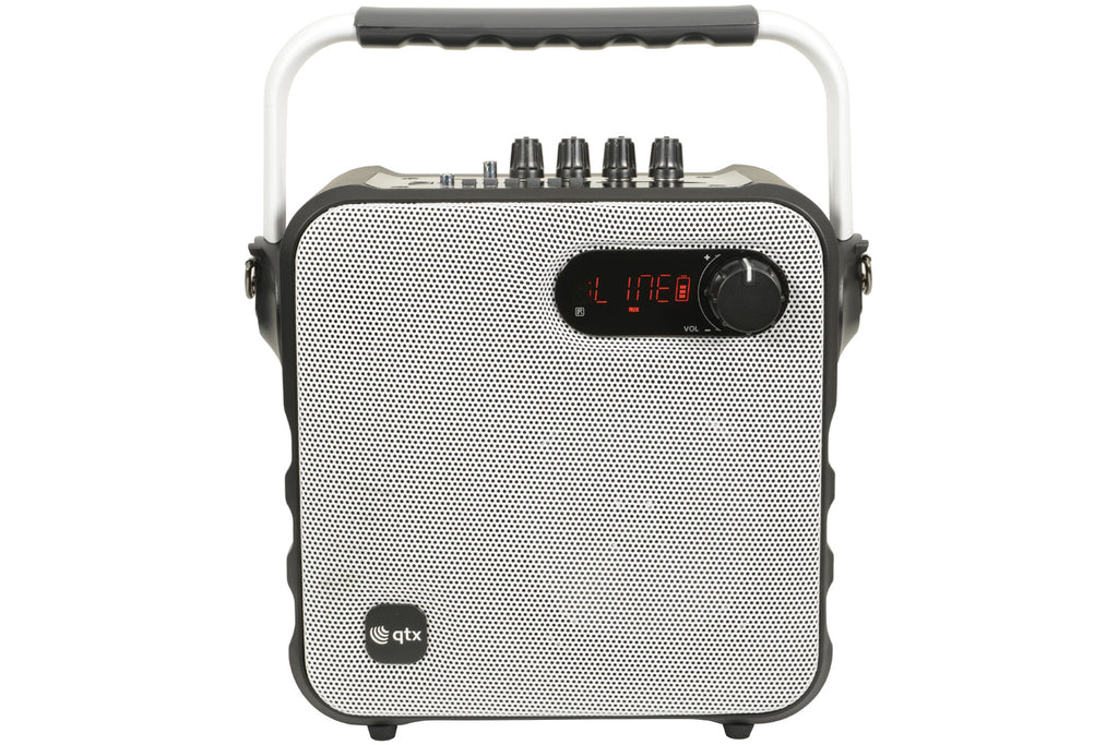 QTX Portable Bluetooth Party Speaker