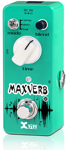 Pre-Loved Xvive Maxverb Digital Reverb Pedal (MINT)