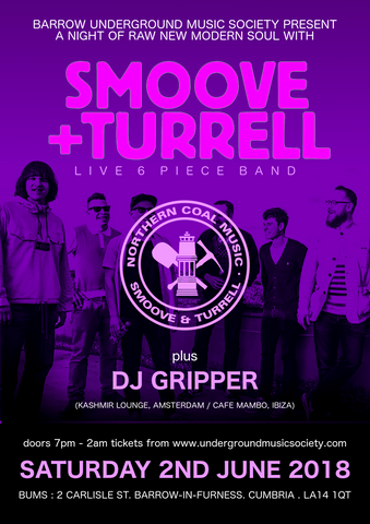 DJ Gripper's Soul, Funk and Disco Chart for Smoove & Turrell @ BUMS