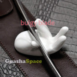 GuashaSpace Medical Grade Stainless Steel Soft Tissue Physical Therapy Chiropractic Sports Injuries Therapy Gua Sha Tool Guasha Scraping Tool (ST017 Type)