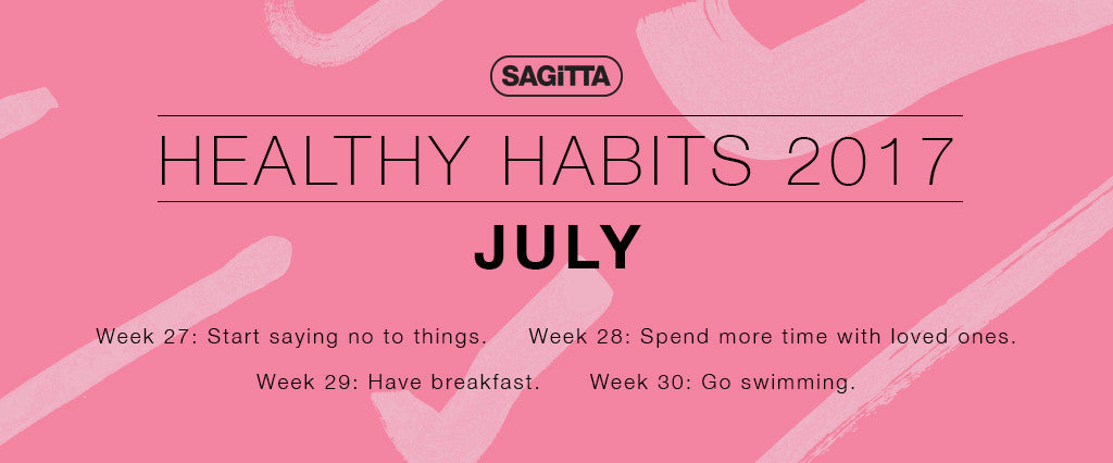 Healthy Habits 2017 | July